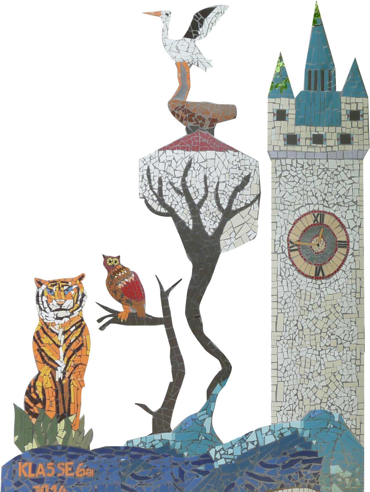 Mosaik in Straubing