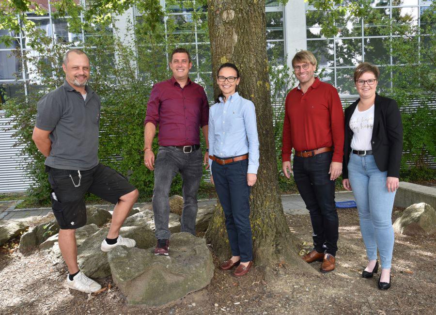 Verwaltungsteam der Grund- und Mittelschule St. Josef in Straubing